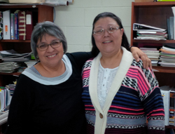 Sonja Greene and Lenora Maracle Champion Teachers 2015