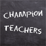 Champion Teachers graphic image