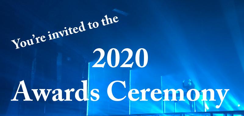 2020 Awards Ceremony announcement