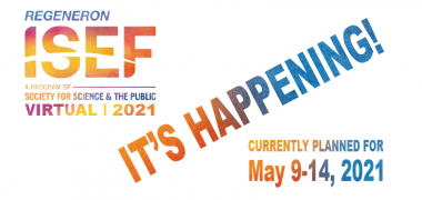 ISEF 2021 Announcement Blog Image
