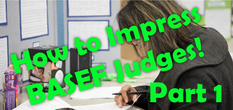 How to Impress BASEF Judges Part 1 blog post image